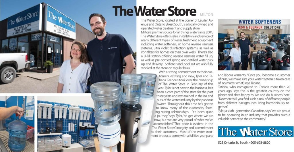 The Water Store Milton in the News